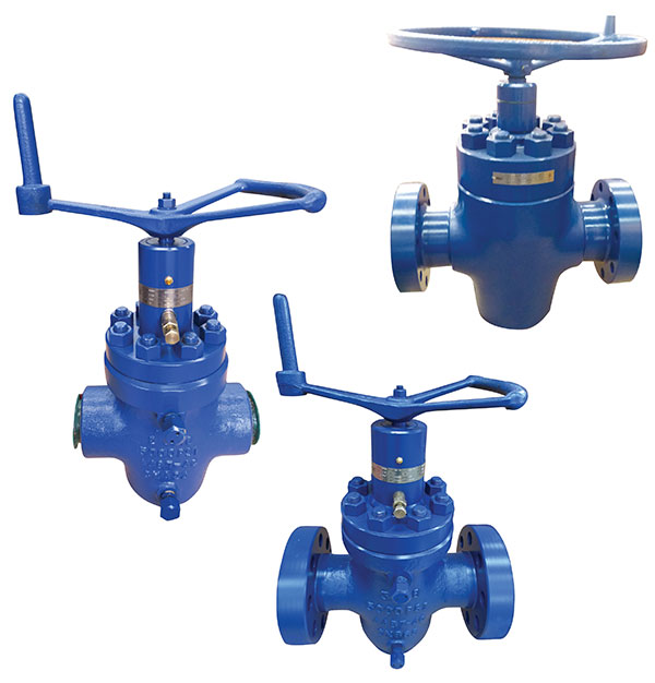 WELLHEAD API 6A GATE VALVES