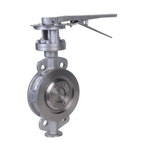 Duplex Steel API Lug Wafer Butterfly Valve