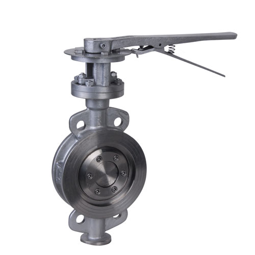 Duplex Steel Triple Offset Wafer Butterfly Valve