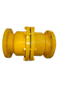 PTFE Lined ball ckeck valve