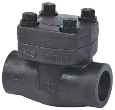 Forged Steel Check Valve Manufacturer Exporter in India