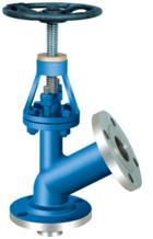 Flush bottom plug type valve