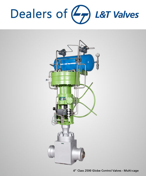 L&T Valve Suppliers Dealers Distributors in India