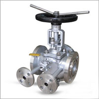 RTJ Plug Valve, Three Way, API 6D, 600 LB