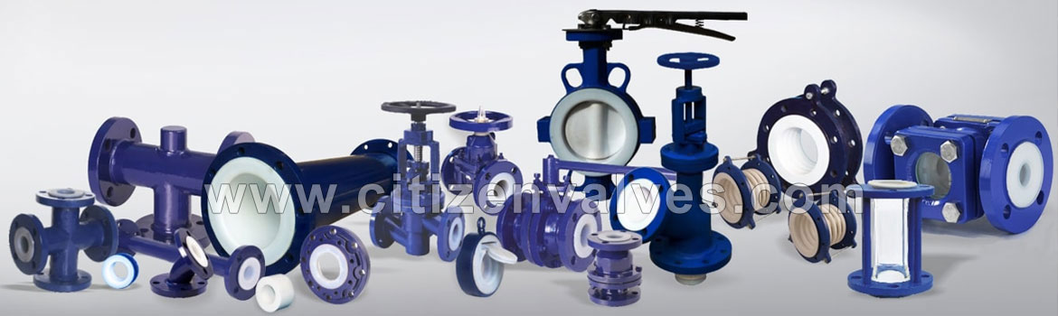 PTFE Lined Valve Dealers Distributors in Mumbai Pune Chennai India