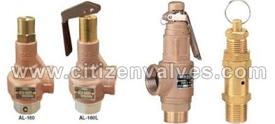 Copper Safety Relief Valves Suppliers Dealers Distributors in India