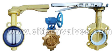 Copper Butterfly Valves Suppliers Dealers Distributors in India