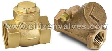 Copper Check Valves Suppliers Dealers Distributors in India