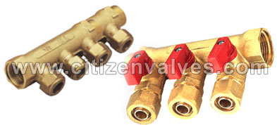 Copper Manifold Valves Suppliers Dealers Distributors in India