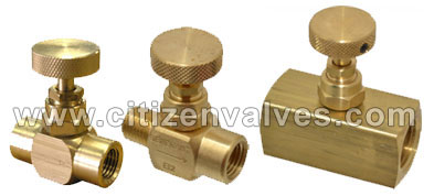 Brass Needle Valves Suppliers Dealers Distributors in India