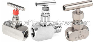 Inconel 600/625 Needle Valves Suppliers Dealers Distributors in India