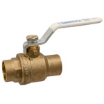 Ball Valve - Lead-Free* Brass, Two-Piece, Full Port, C x C