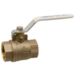 Ball Valve - Lead-Free* Brass, Two-Piece, Full Port, NPT x NPT