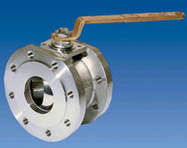 Ball valve wafer type - FB1